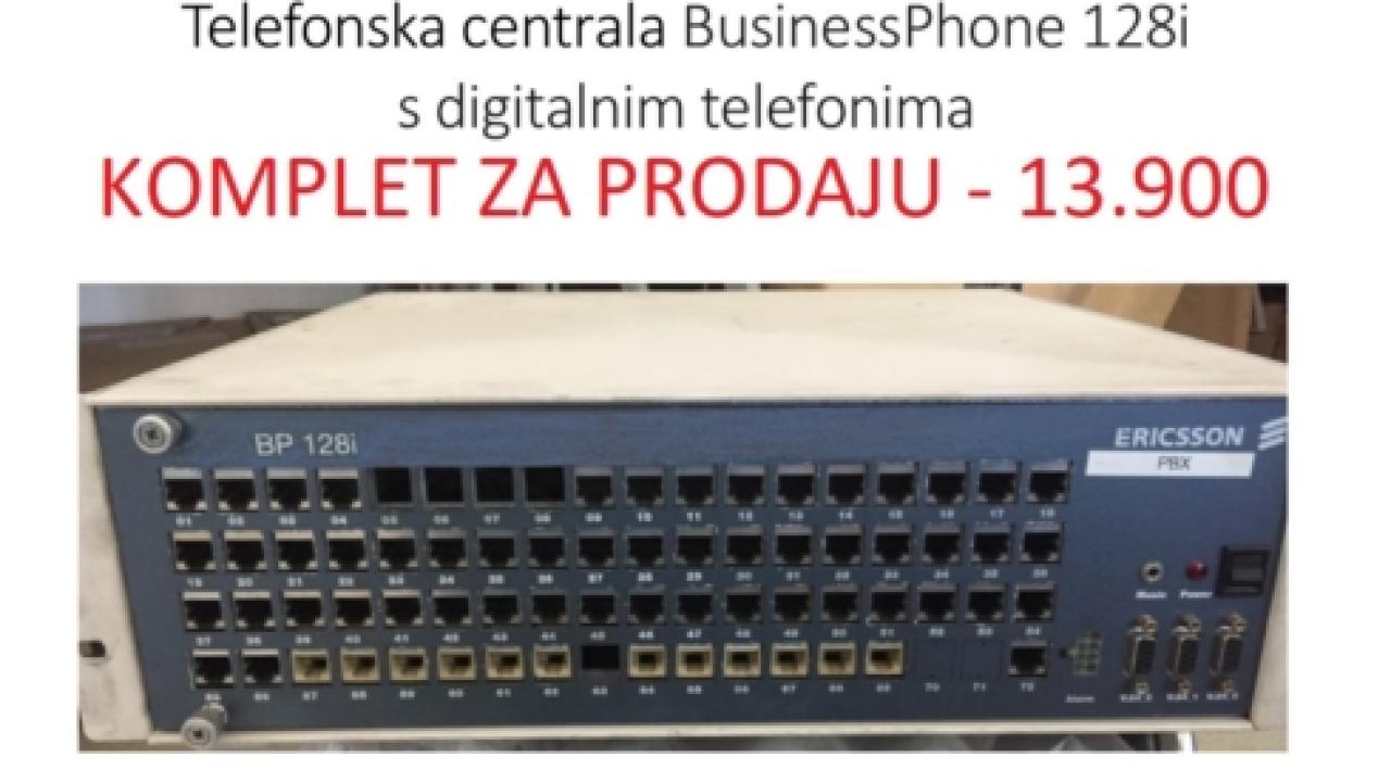 Prodaja rabljene Ericsson telefonske centrale