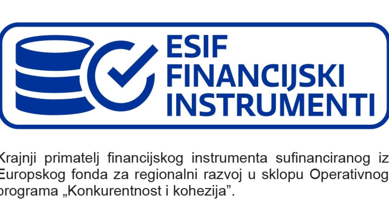 Korisnik smo ESIF financijskog instrumenta