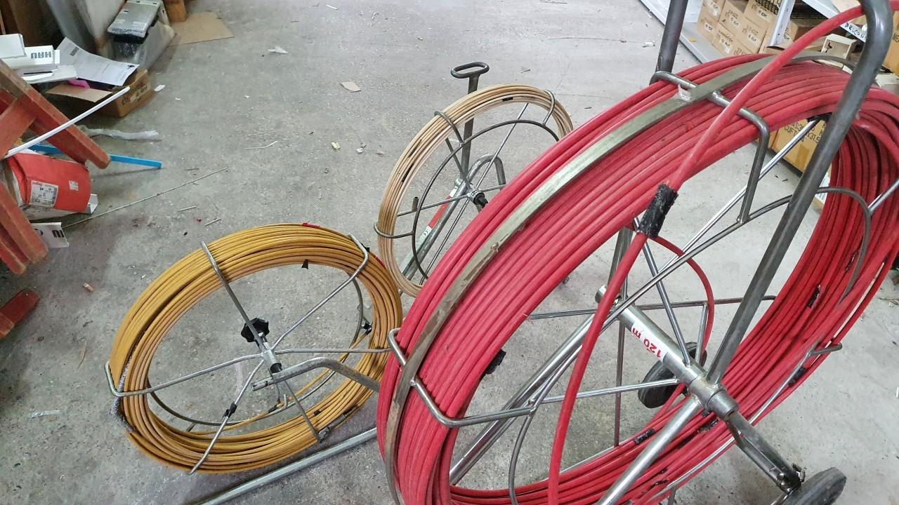 Sajle za provlačenje kabela - komplet