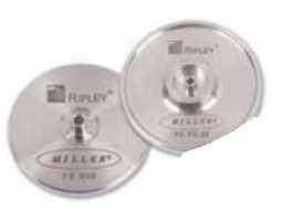 Alat, metalni disk, za poliranje konektora sa ferulom 2.5mm (ST,SC,FC)
