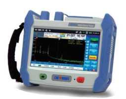 OTDR, 1310/1550nm, dinamika 36/34dB, mjerač snage, VFL izvor, Deviser AE3100CP-1, sa torbom