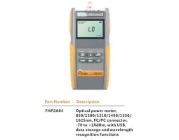 Mjerač optičke snage, 850-1625nm pojas, VFL, +10 do -70dBm, Grandway FHP2A04