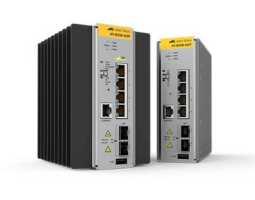 AT-IE200-6GP Allied Telesis preklopnik (switch), GbE, L2, SNMP, 4x100/1000T + 2xSFP, industrijski, -48V DC, PoE+, EPSRing