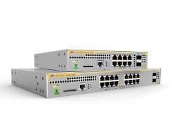AT-IE210L-18GP Allied Telesis preklopnik (switch), FE, L2, SNMP, 16x100/1000Tx + 2xSFP, industrijski, -48V DC, PoE+, EPSRing