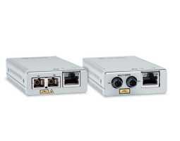 AT-MMC2000/LC (SC,ST) Allied Telesis pretvornik (media converter), mini, GbE, 100/1000T na 1000Sx multimodni LC (SC,ST), domet 500m