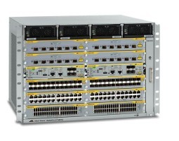 "AT-SBX8112 Allied Telesis kućište, Switchblade X8112, 19"", za do 12 modula SBX8xxx, bez napajača (do dva)"