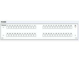"Maska, prednja, za panel PAN-SPLFVS2-2U, 48xSC/DLC, 19""-2U"