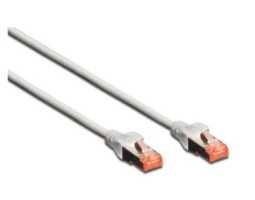 Kabel, Cat6 S/FTP, prespojni RJ-45, 2 met, LSOH