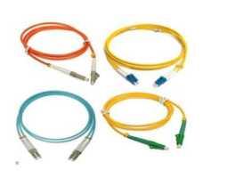 Kabel, optički, prespojni, 09/125um OS2, LC - LC, Duplex, 1m, LSZH