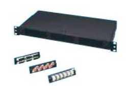 Panel, optički, modul 8xST, monomodni,  za PAN-nMODL, popunjen spojnicima