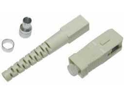 Konektor, epoxy, SC, za MM vlakna, za kabele 2mm, 100-pack, po kom