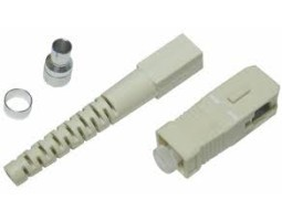 Konektor, epoxy, SC, za SM vlakna, za kabele 2mm, 100-pack, po kom