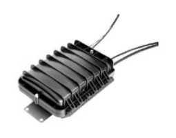 Kabelska spojnica, FTTH zračna, za 4+1 kabela, za 5 kaseta 12F (dvije uključene)