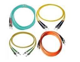 Kabel, optički, prespojni, 50/125um, ST - ST, Duplex, 1m, LSZH