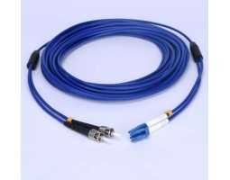 Kabel, optički, prespojni, 50/125um, konektori po izboru, 1m, LSZH, armirani, vanjski, 2-nitni