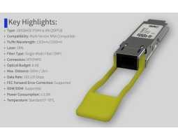Modul, QSFP28, 100GbE-LR4, SM LC, 1310nm/2km, ATI/Cisco kompatibilan