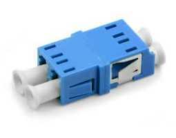 Konektor, optički, spojni,  jednomodni, DLC-DLC, duplex (coupler)