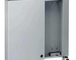 Kabinet, optički, zidni, za mini-panel PAN-24/48 SC/DSC/ST-FC, prazan, sa ključem