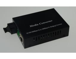 TW-MC1000-SC pretvornik (media converter), FE, 100/1000Tx na 1000Lx 1310nm SC, domet SM 20km - MM 550m, kompatibilan