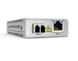 AT-MMC2000LX/LC (SC) Allied Telesis pretvornik (media converter), mini, GbE, 100/1000T na 1000Lx monomodni LC (SC), domet 10km