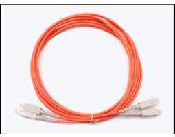 Kabel, optički, prespojni, 62.5/125um, SC - SC, Duplex, 2m