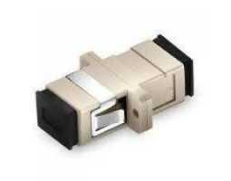 Konektor, optički, spojni,  višemodni, SC-SC, simplex (coupler)