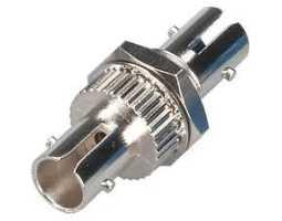 Konektor, optički, spojni,  jednomodni, ST-ST, simplex (coupler)