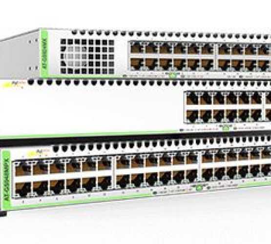 AT-GS924MX Allied Telesis preklopnik (switch), GbE, Basic L3, SNMP, 24x100/1000T+2x100/1000T/SFP combo + 2xSFP/SFP+, stakabilan 2011