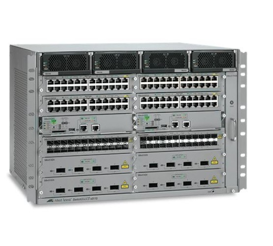"AT-SBX3112 Allied Telesis kućište, Switchblade X3100, 19"", za do 12  modula SBX3xxx, bez napajača (do dva) 2140"