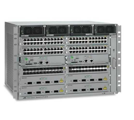"AT-SBX3112-8XR Allied Telesis kućište, Switchblade X3100, 19"", komplet sa napajačima i 2 modula 31XZ4, za 8 XFP priključka 2147"