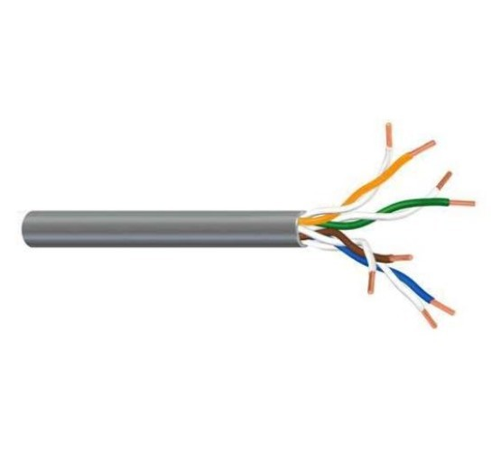 Kabel, Cat5e U/UTP, za polaganje, kolut 305 met, PVC 24AWG, 200MHz  2244