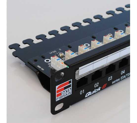 "Panel, Cat6 UTP, prespojni, 24xRJ45, krimpanje Krone, 19""-1U, sa nosačem kabela 3315"
